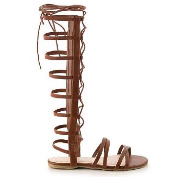 4e253478241 NWOB Bamboo Raku Gladiator Sandals Size 9
